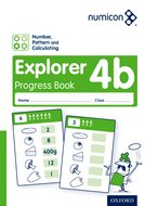 Numicon: Number, Pattern and Calculating 4 Explorer Progress Book B (Pack of 30)