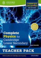 Complete Physics for Cambridge Lower Secondary Teacher Pack
