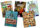 Project X Origins: Brown Book Band, Oxford Level 9: Knights and Castles: Mixed Pack of 5