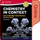 Chemistry in Context for Cambridge International AS & A Level Online Student Book