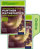 Oxford International AQA Examinations: International A Level Further Mathematics with Statistics: Print and Online Textbook Pack