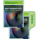 Oxford International AQA Examinations: International A2 Level Mathematics Pure and Mechanics: Print and Online Textbook Pack