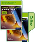 Oxford International AQA Examinations: International A Level Chemistry: Print and Online Textbook Pack