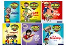 Hero Academy: Oxford Levels 1-3, Lilac-Yellow Book Bands: Easy Buy Pack Reception/Primary 1