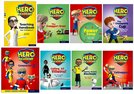 Hero Academy: Oxford Levels 7-12, Turquoise-Lime+ Book Bands: Easy Buy Pack Year 2/Primary 3