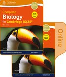 Complete Biology for Cambridge IGCSE Print and Online Student Book Pack