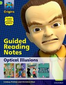 Project X Origins: Lime+ Book Band, Oxford Level 12: Optical Illusions: Guided reading notes
