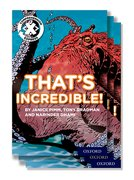 Project X <i>Comprehension Express</i>: Stage 1: That's Incredible! Pack of 15