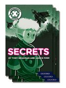 Project X <i>Comprehension Express</i>: Stage 2: Secrets Pack of 15