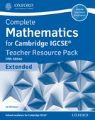 Complete Mathematics for Cambridge IGCSE® Teacher Resource Pack (Extended)