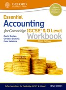 Essential Accounting for Cambridge IGCSE® & O Level Workbook