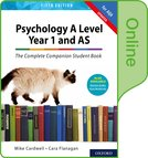 Psychology A Level Year 1 and AS: The Complete Companion Student Book for AQA