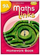 MathsLinks: 3: Y9 Homework Book A Pack of 15
