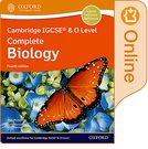 Cambridge IGCSE® & O Level Complete Biology: Enhanced Online Student Book Fourth Edition