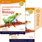 Cambridge IGCSE  O Level Essential Biology: Print and Enhanced Online Student Book Pack Third Edition