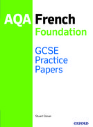 GCSE French Foundation Practice Papers AQA - exam revision GCSE 9-1