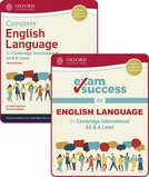 Complete English Language for Cambridge International AS & A Level: Student Book & Exam Success Guide Pack