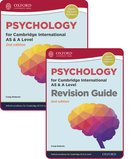 Psychology for Cambridge International AS and A Level: Student Book & Revision Guide Pack