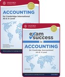 Accounting for Cambridge International AS and A Level: Student Book & Exam Success Guide Pack