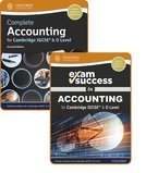 Complete Accounting for Cambridge IGCSE® & O Level: Student Book & Exam Success Guide Pack