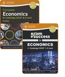 Complete Economics for Cambridge IGCSE and O Level: Student Book  Exam Success Guide Pack