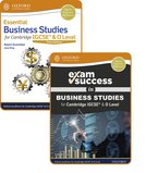 Essential Business Studies for Cambridge IGCSE® & O Level: Student Book & Exam Success Guide Pack