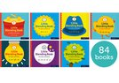 Little Blending Books for Letters and Sounds: Pack of 84