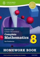 Cambridge Lower Secondary Complete Mathematics 8: Homework Book - Pack of 15 (Second Edition)