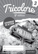 Tricolore 5e édition Grammar in Action Workbook 3 (8 pack)