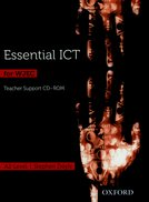 Essential ICT for A Level: A2 Teacher's Support CD-ROM for WJEC