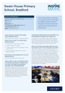 Case study from Swain House Primary School (pdf)