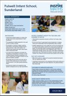Case study from Inspire Maths Advocate Fulwell Infant School (pdf)