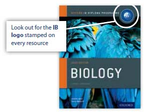 Course Books developed directly with the IB: Oxford University Press