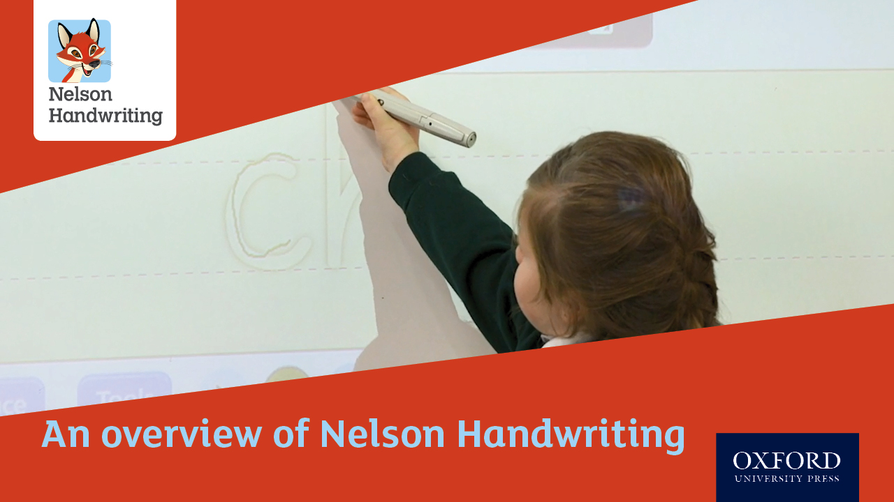An overview of Nelson Handwriting (video)