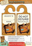 Here be Monsters! Make Your Own Doorhanger Activity Sheet (PDF)