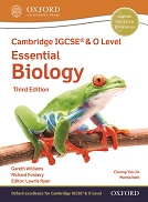 Cambridge IGCSE & O Level Essential Biology Student Book (Third Edition)