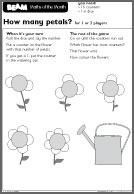 BEAM Counting 3-5 How Many Petals (PDF)
