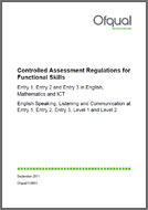 Functional Skills Embedding: Controlled Assessment Criteria (PDF)