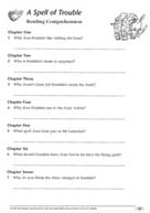 TreeTops: A Spell of Trouble Reading Activity Sheet (PDF)