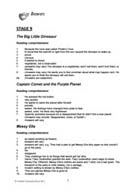 TreeTops Activity Sheet Answers for Levels 9 to 11 (PDF)