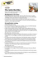 Oxford Reading Tree Traditional Tales Level 1 Teaching Notes (PDF)