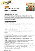 Oxford Reading Tree Traditional Tales Level 8 Teaching Notes (PDF)