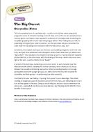Traditional Tales: Level 1+ The Big Carrot storyteller video notes (PDF)