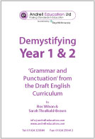 Demystifying Year 1 & 2 Grammar (PDF)