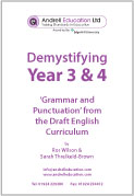 Demystifying Year 3 & 4 Grammar (PDF)