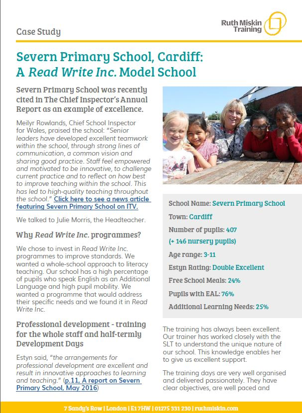 Read Write Inc.: Severn Primary School