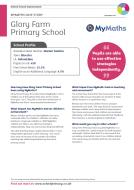 MyMaths Case Study - Glory Farm (PDF)