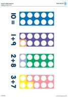 Numicon Adding Facts to 10 (PDF)