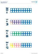 Numicon Adding Facts to 20 (PDF)