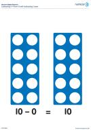 Numicon Subtracting 0-9 from 10 with subtraction covers (PDF)